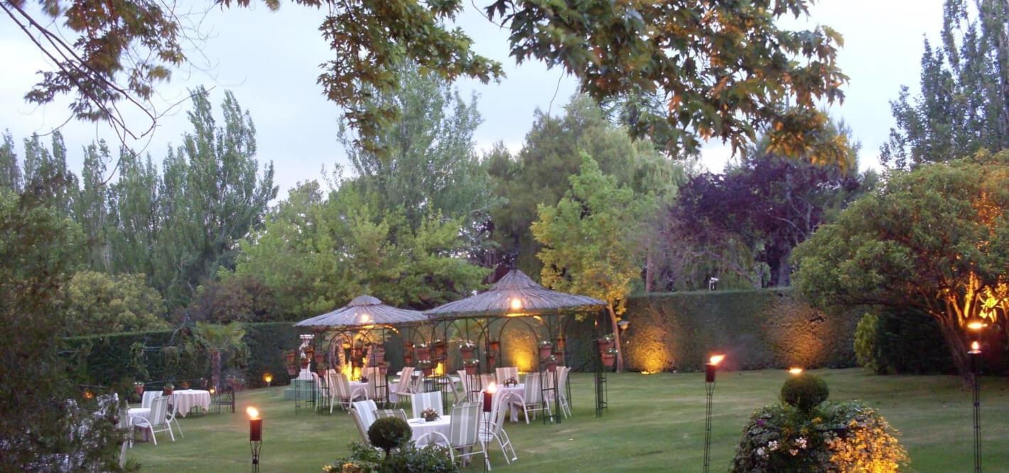 Finca La Campana Villa Real jardin